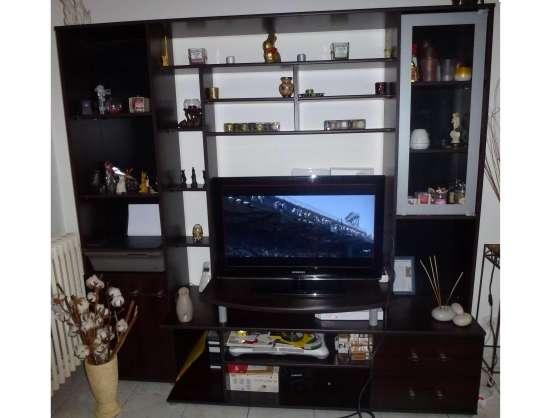 Ensemble meuble TV/ bibliothèque + Table