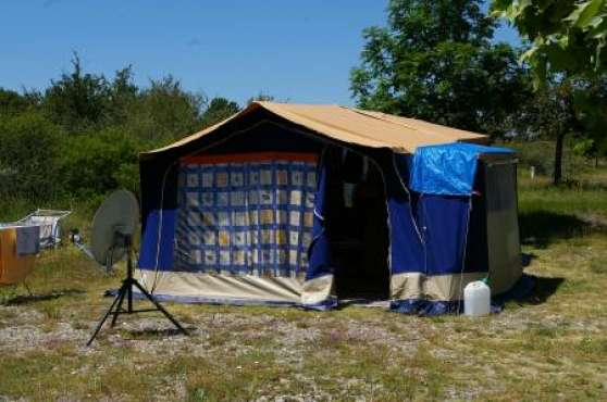 caravane pliante toile raclet annebecq caravanes camping car caravanes annebecq reference. Black Bedroom Furniture Sets. Home Design Ideas