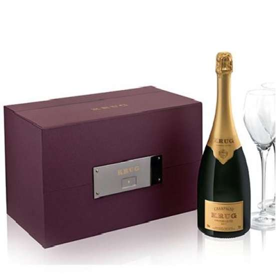 Coffret Champagne Krug Grande Cuvée