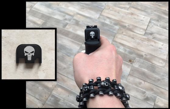Annonce occasion, vente ou achat 'Cover punisher pour tous les glock NEUF'