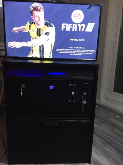 machine d'arcade nouveau evulotif