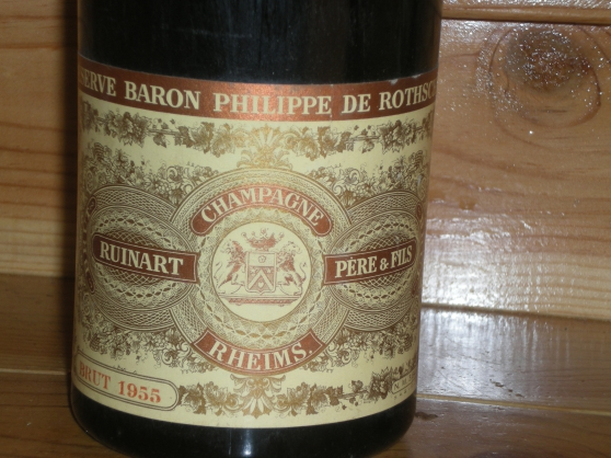 1 bouteille de champagne réserve philipp - Annonce gratuite marche.fr
