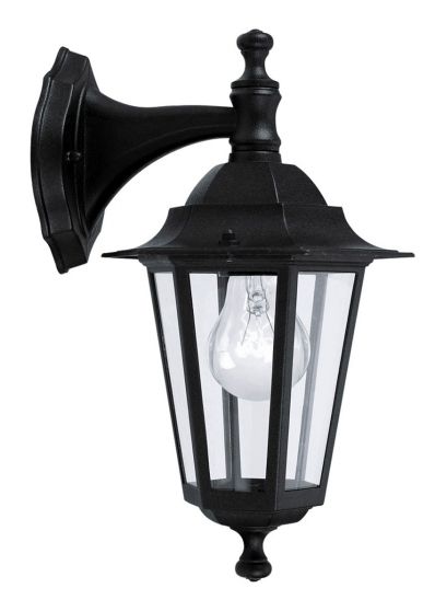 Petite Annonce : Lot de 2 appliques d\'extérieur lanterna4 - Lot de 2 appliques d\'extérieur LANTERNA 4 Eglo 22467 pour lampe