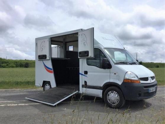 renault master transport chevaux - Annonce gratuite marche.fr
