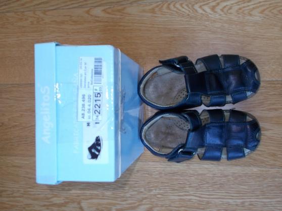 Sandale enfant garçon bleu - Taille 25