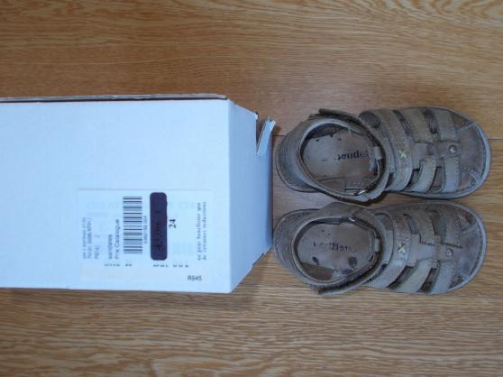 Annonce occasion, vente ou achat 'Sandale enfant garçon beige - Taille 24'