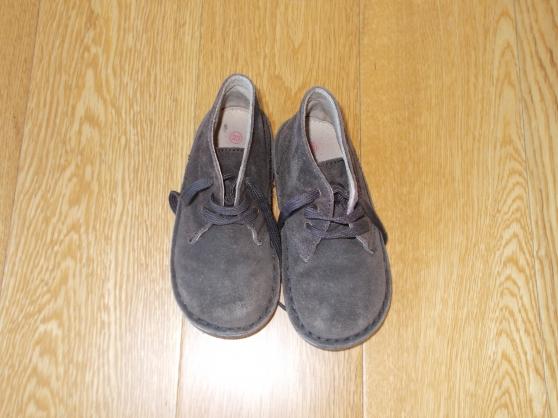 chaussure  garçon marron - taille 23 - Annonce gratuite marche.fr