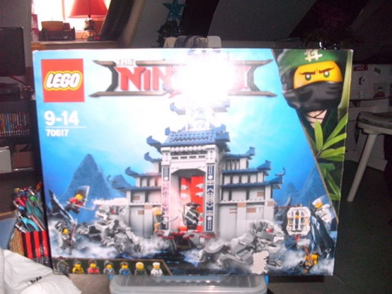 LEGO NINJAGO N°70617 Le temple de l'arme