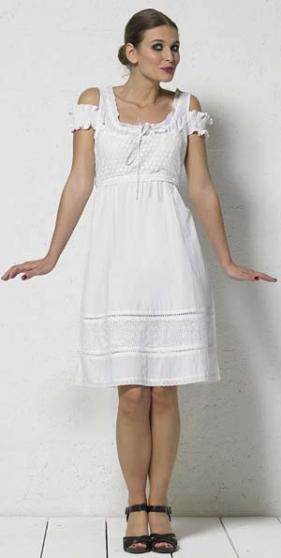 Petite Annonce : Robe coline - Robe coline blanche, neuve, jamais porté, avec étiquette taille S