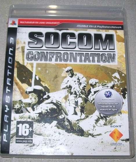 SOCOM CONFRONTATION JEU PS3 EN LIGNE