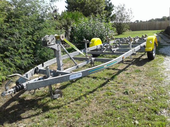 location remorque porte bateau 1400 kg - Annonce gratuite marche.fr
