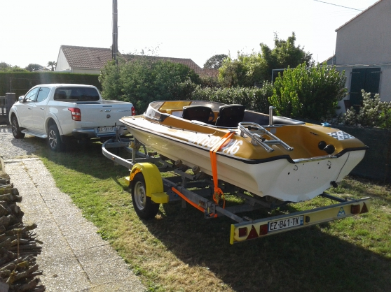 Location remorque porte bateau 1400 kg - Photo 3