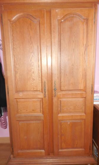 Annonce occasion, vente ou achat 'armoire penderie en bois pour chambre e'