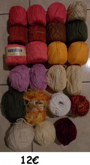 laine et coton