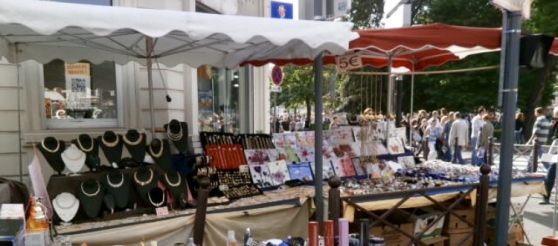 Matériel forain et étalage marché/stand