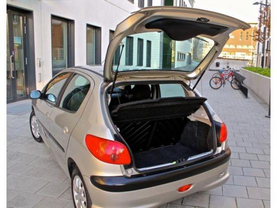 Peugeot 206 1.9 D XR +carte grise