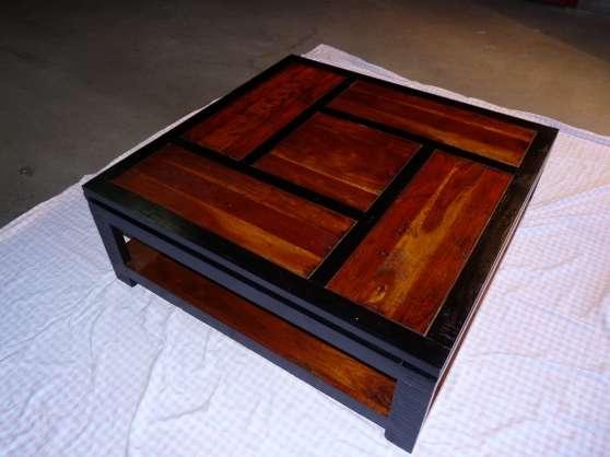 Table basse carree bois conforama - Table basse nomade ...