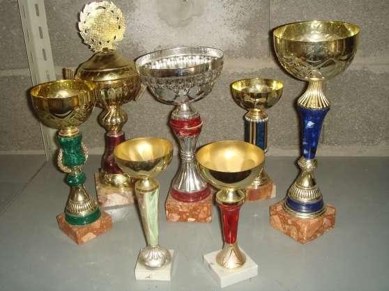 Annonce occasion, vente ou achat 'Vends coupes trophées'