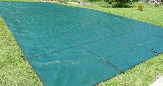 Bache piscine 5x12 for Direct filet piscine