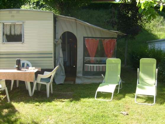 Loue mobile home bord lac Enchanet