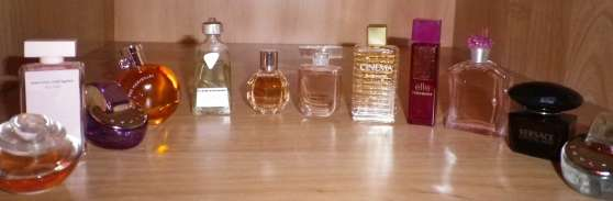Miniatures de parfums pour collection
