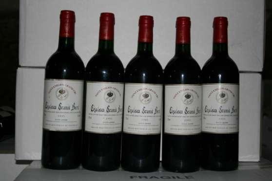 5 St Emilion Château Grand Bert 1995