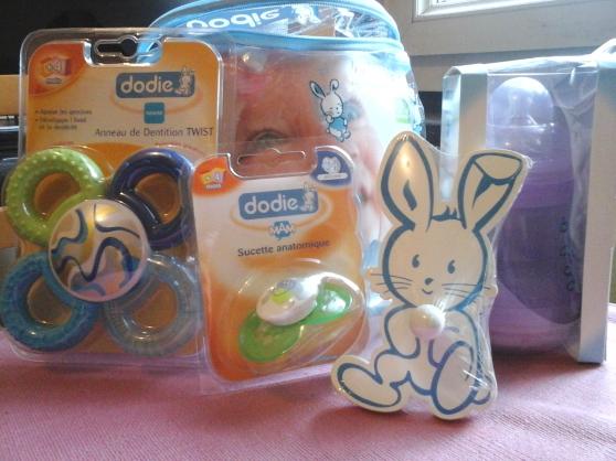 Annonce occasion, vente ou achat 'Trousse + accessoires bébé NEUFS Marque'