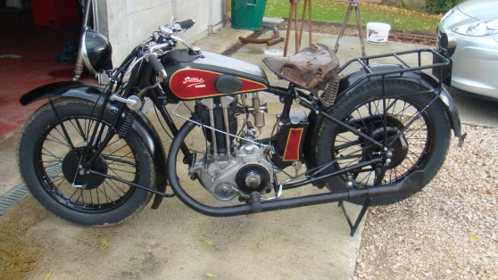 Annonce occasion, vente ou achat 'Gillet Herstal 500 sport 1929'