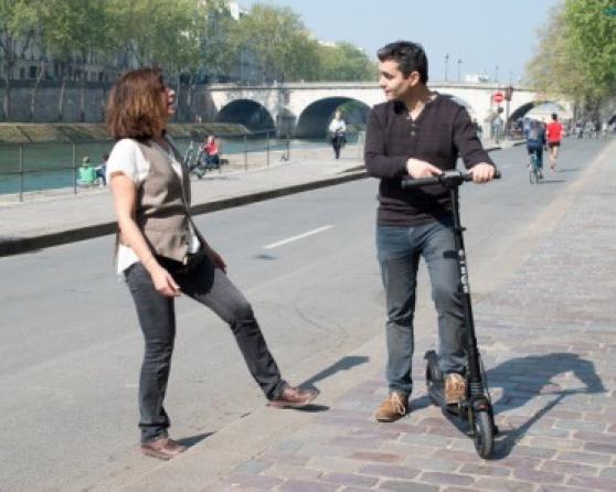 balade à Paris trottinette électrique - Photo 2