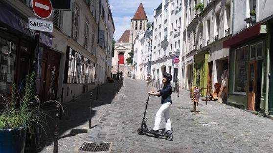 balade à Paris trottinette électrique - Photo 3