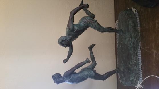 bronze Etienne Forestier