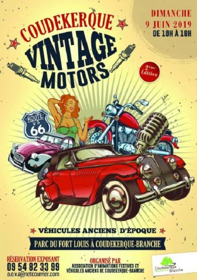 Annonce occasion, vente ou achat 'COUDEKERQUE.....VINTAGE.......MOTORS'