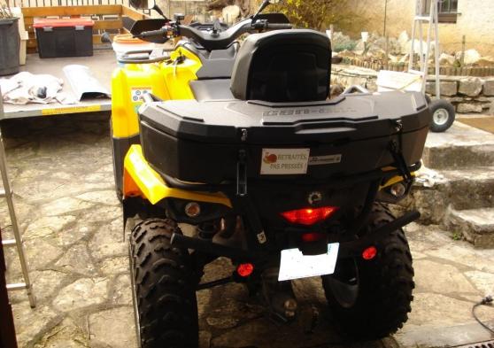 Quad can am outlander l 500max