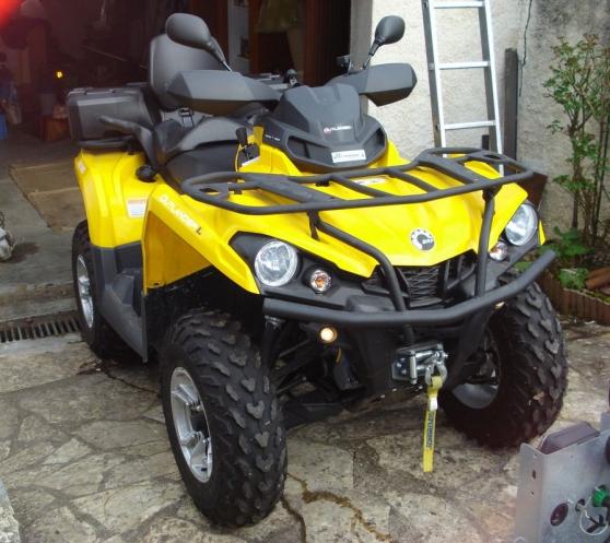Quad can am outlander l 500max - Photo 2