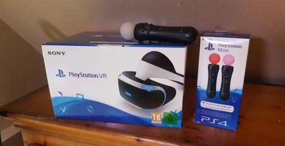 Casque PS VR + manettes + jeux