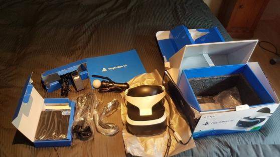Casque PS VR + manettes + jeux - Photo 3