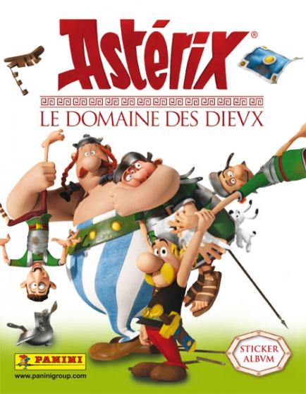 STICKERS ASTERIX LE DOMAINE DES DIEUX