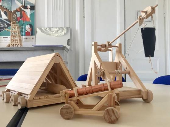 Maquettes médiévales fonctionnelles en k