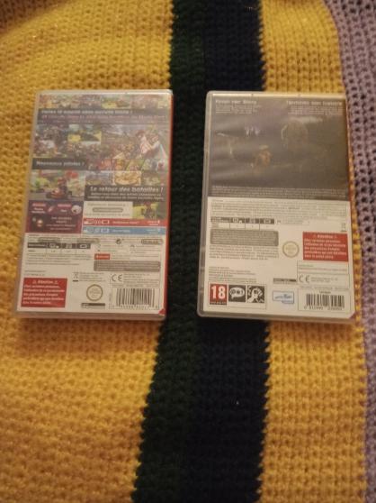2 jeux en état Neuf Nintendo switch - Photo 2