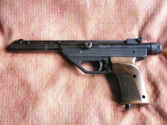 Annonce occasion, vente ou achat 'Pistolet HAMMERLI RAPIDE'