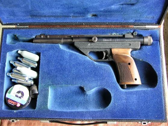 Pistolet HAMMERLI RAPIDE - Photo 4