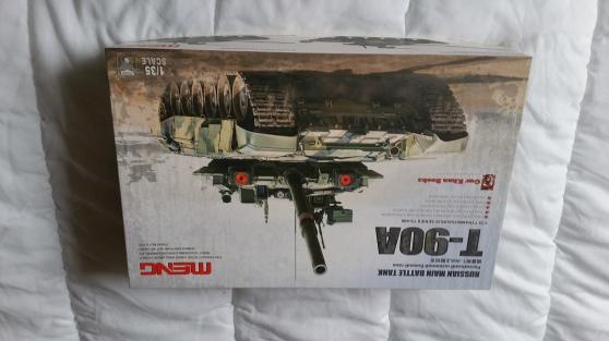 maquette char Russe T-90A de la marque
