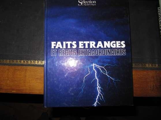 Annonce occasion, vente ou achat 'FAITS ETRANGES et RECITS EXTRAORDINAIRE'