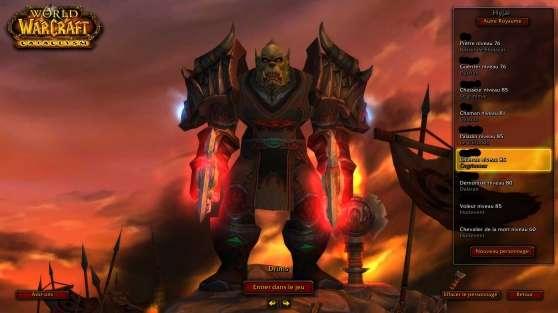 compte won - world of warcraft