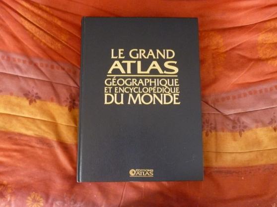 Annonce occasion, vente ou achat 'VENDS LE GRAND ATLAS DU MONDE GEO'
