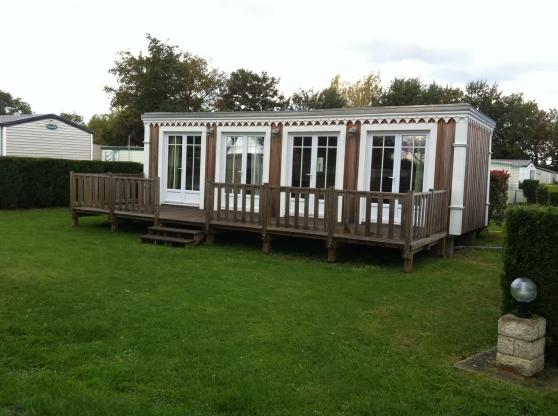 Vente mobile home chalet hermanville sur mer immobilier a vendre mobil home chalets - Chalet de jardin occasion a vendre ...