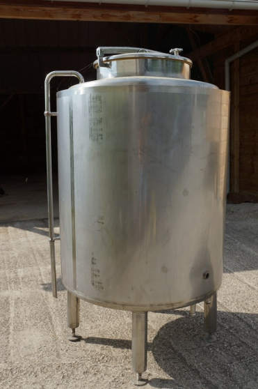 Cuve INOX 500L isolée 50mm circuit refro