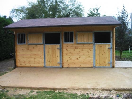 abris de jardin, box chevaux, terrasse