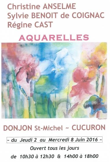 Exposition d'Aquarelles