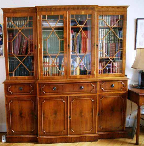 biblioth que style anglais marway lyon meubles. Black Bedroom Furniture Sets. Home Design Ideas
